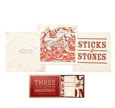 Set Of Three O'Pioneer Handkerchiefs