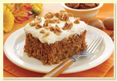 3/4 cup walnuts, finely chopped 2 cups carrots, shredded 1 cup crushed pineapple        1/2 cup shredded coconut 1/2 cup raisins 1 1/4 cup...