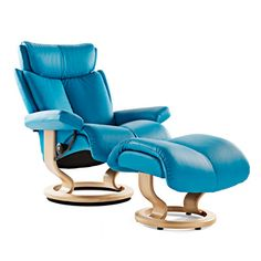 I really want one of these Sressless Chairs by Ekornes.