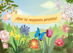 pronta recuperacion frases - Google Search Happy Weekend, Happy Day, Pet Remembrance, Get Well Wishes, Midnight Sky, Lilac Wedding, Image Fun, Cute Poster, Get Well Soon