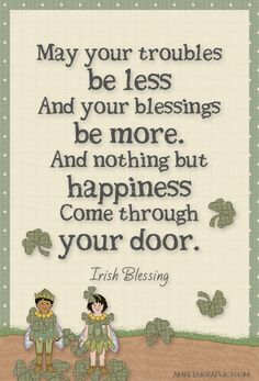 Amretasgraphics Blog: 23 Irish Blessings - Day 16