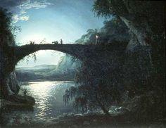 favorite painting...Joseph Wright of Derby, Italian Landscape