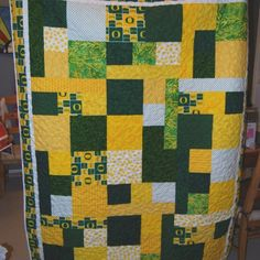 Oregon Ducks quilt