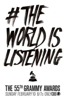 The 55th GRAMMY Awards Campaign Revealed!