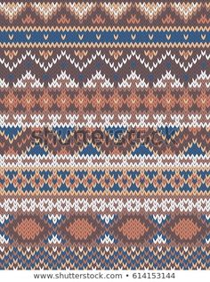 Find Knitted Pattern stock images in HD and millions of other royalty-free stock photos, illustrations and vectors in the Shutterstock collection. Fair Isle Knitting Patterns, Fair Isle Pattern, Knitting Charts, Knitting Stitches, Knitting Designs, Knit Patterns, Embroidery Patterns, Feather Pattern, Quilt Blocks