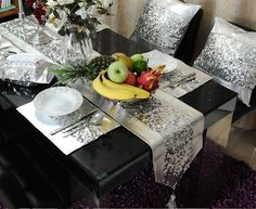 table runner and place mat sets | Popular Chair Patchwork | Aliexpress