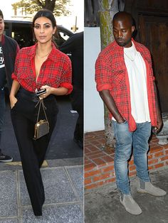 Kim Kardashian's most memorable fashion phases: The Kanye twinning phase