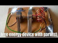 Free energy generator, easy to build, 100% free design - YouTube