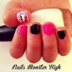 Nails Monster High :)