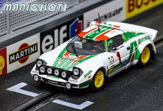 ManicSlots' slot cars and scenery: GALLERY: Ninco Lancia Stratos Slot Car Racing, Slot Car Tracks, Slot Cars, Rc Cars, Monte Carlo Rally, Car Racer, Fun Hobbies, Rally Car, Car Manufacturers