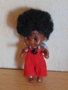 Sunshine Family, Familie Sonnenschein, Baby (black) - verwandt mit Barbie