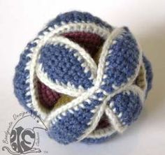 Amish puzzle ball Pretty Cool, How To Look Pretty, Amish, Puzzle, Cool Stuff, Crochet, Pattern, Baby, Design