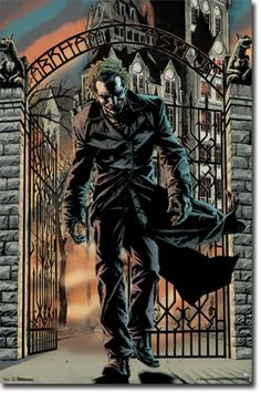 Totally gonna attempt to paint this. This is my fav image from Joker by Brian Azzarello. Art by Lee Bermejo.