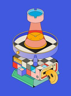 Studio XO — a collection of isometric illustrations that shows the different aspects of the work in a today's design studio. Behance :: Best of Behance Behance, Graphic Design Illustration, Illustration Art, Grafik Design, Vector Art, Print Design, Character Design, Design Inspiration, Studio