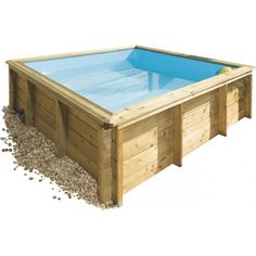 Piscine Bois Hors Sol TROPIC JUNIOR