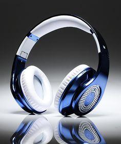 Blue Electroplating Beats By Dr Dre Studio Diamond Headphones