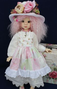 Perfectly Pink fits Kaye Wiggs Talyssa, Miki, MSD BJD dolls by K&K Designs
