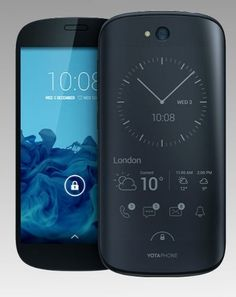 The YotaPhone 2 is a unique android smartphone featuring a dual screen display with AMOLED on the front and a e-paper display on the back. Cool New Gadgets, Latest Gadgets, Gadgets And Gizmos, Electronics Gadgets, Technology Gadgets, Tech Gadgets, Android Technology, Latest Technology, Tablet Phone