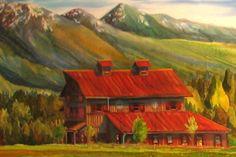 Nancy Cawdrey - Flathead Valley Barn