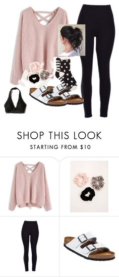 Socks and Sandals by kenzietheelephant on Polyvore featuring Chicwish, Hollister Co., Birkenstock and Torrid