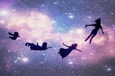 Flying to Neverland