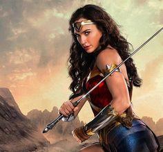 Gal Godot as Wonder Woman.