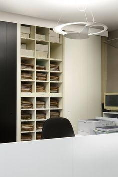 Glu suspension lamp - business office in Castelfranco Veneto ( TV ) #design #lighting