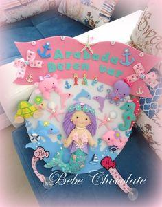 felt mermaid pattern, keçe deniz kızı, arabada bebek var keçe