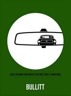 It doesn't get much cooler than this... #Bullitt #Poster