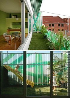 'Polygreen' home is designed by husband and wife architectural team, Bellemo & Cat