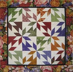 mini quilts with paper piecing patterns   Mini Quilt
