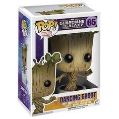 Dancing Groot Vinyl Bobble-Head 65 - Funko Pop! från Guardians Of The Galaxy
