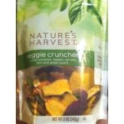 Nature's Harvest Veggie Crunchers - probably my favorite snack to get while grocery shopping!