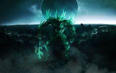 Destiny crota son of oryx photoshop collage art