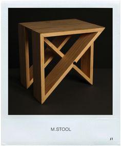 M Stool by J1studio
