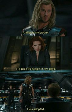 Me and my friend went through this EXACT conversation when I tried to justify Loki