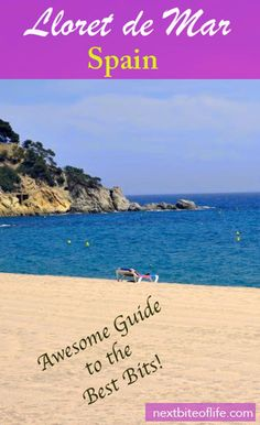 Lloret de Mar is an idyllic beach town on the Costa Brava. Places In Spain, Places In Europe, Best Places To Travel, European Destination, European Travel, Travel Guides, Travel Tips, Travel Destinations, Weekend Breaks Europe