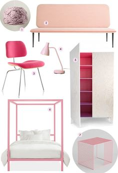 I love pink, and I'm not afraid to say it. But when it comes to interiors, pink can be more than a little intimidating. How do you incorporate it into your home without said home looking like a Barbie dream house? Apartment Therapy has some ideas.