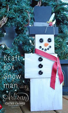 Artisan Wednesday Wow: Frosty the Snowman by Cathy Caines @Stampin' Up!