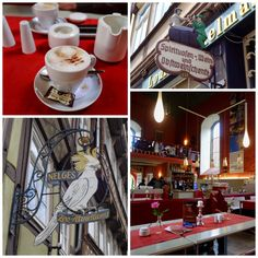 Café Aegidius. Hann. Münden. Niedersachsen.