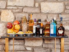 Here's everything you need to know about stocking a bar for the holidays >> http://blog.diynetwork.com/maderemade/2013/11/26/how-to-stock-a-bar-for-your-holiday-parties/?soc=pinterest-blogparty