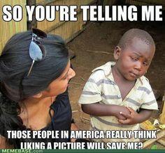 internet memes - Explaining Slacktivism
