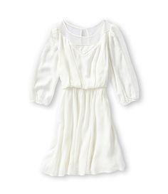 GB Girls 4-6X Gauze Peasant Dress | Dillards.com