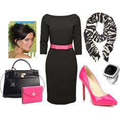 Hot Pink Mama, created by disneydiva7 on Polyvore