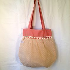 Stofftasche mit Bommelband. Betty's-Atelier Tote Bag, Bags, Fashion, Atelier, Handbags, Moda, Fashion Styles, Totes, Fashion Illustrations