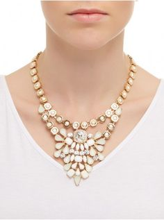 Statement Pastel Necklace Multi-colour 240