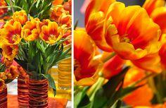 #tulips #flowers #orange