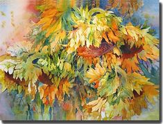 """Sunflowers"" - by Rose Edin (Gallery)"