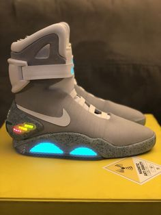 b002d0142ead BRAND NEW Nike Air Mag 2011 With Flux Capacitor Watch Back To The Future  Size 11