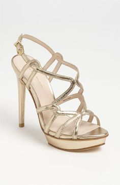 Statement shoes for prom. Pelle Moda 'Flirty' Sandal available at #Nordstrom
